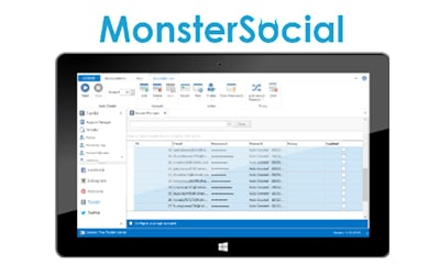 برنامه monstersocial